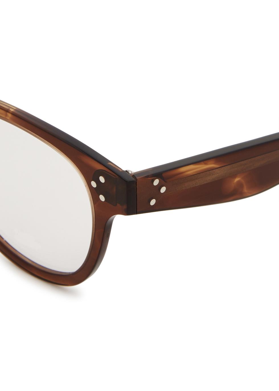 Ellie oval-frame optical glasses - Celine