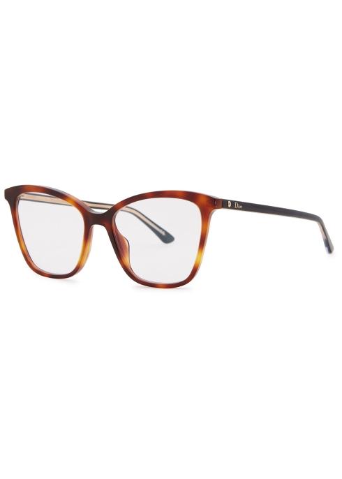 739d99608e Dior Montaigne46 cat-eye optical glasses - Harvey Nichols