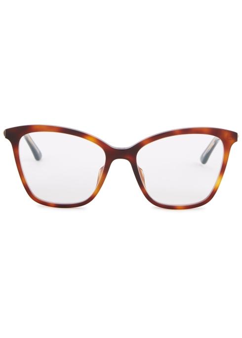 c2499701bbf Dior Montaigne46 cat-eye optical glasses - Harvey Nichols