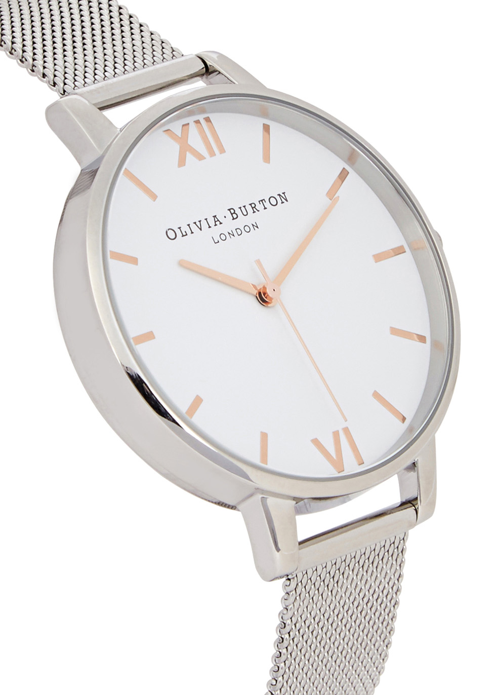 White Dial silver-plated watch - Olivia Burton