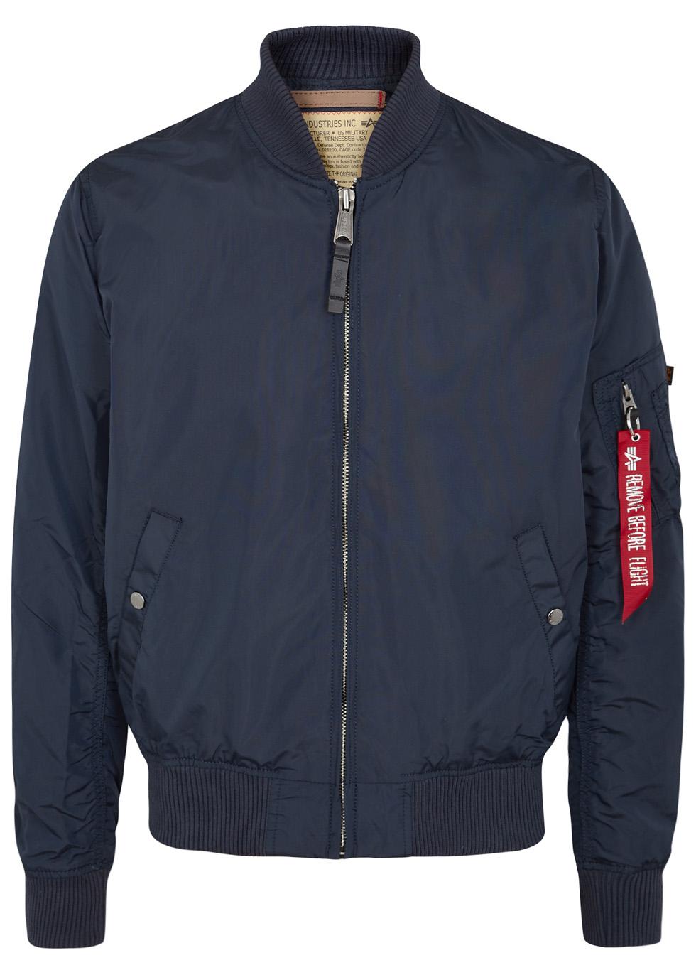 MA1-TT blue shell bomber jacket - Alpha Industries
