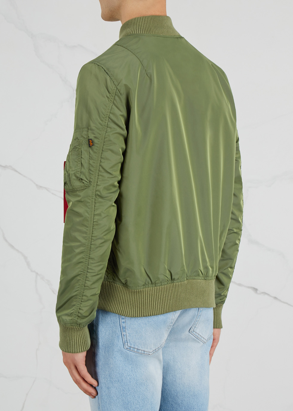 MA1-TT olive shell bomber jacket - Alpha Industries
