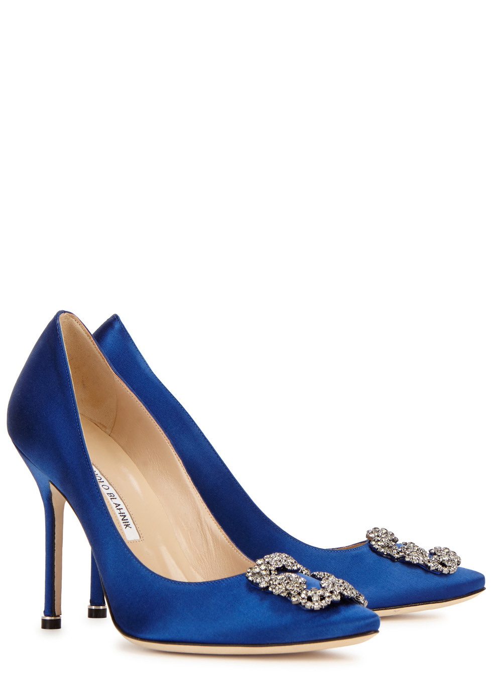879cf4e555b85 ... coupon code for hangisi 105 royal blue silk satin pumps manolo blahnik  67b01 9851b