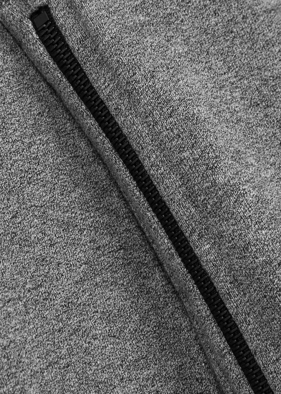 Hooded Villain zipped cotton sweatshirt - John Elliott