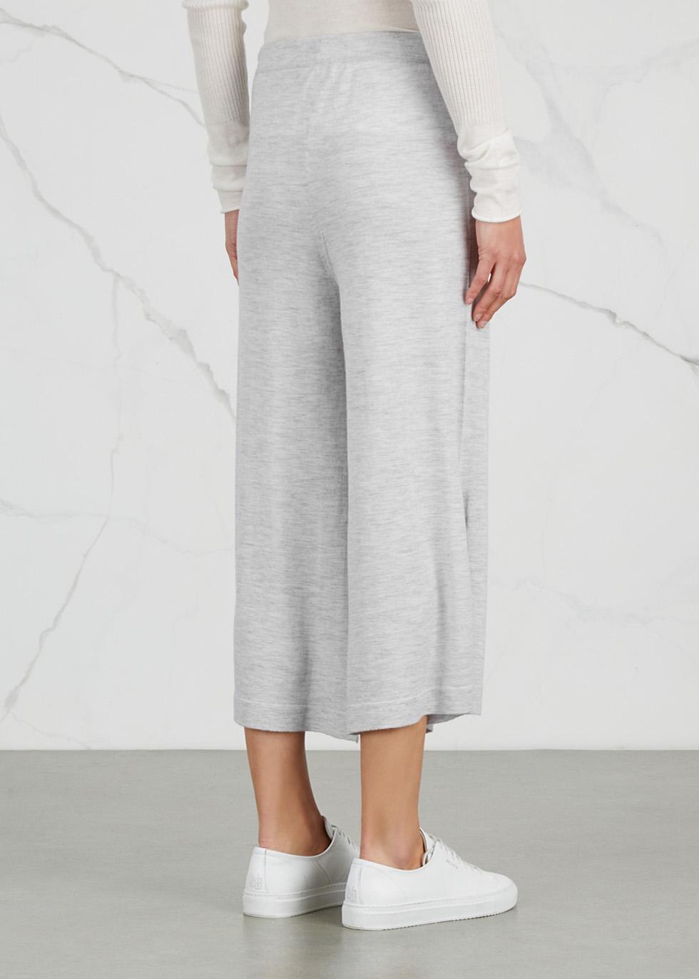Thane cropped cashmere trousers - Le Kasha