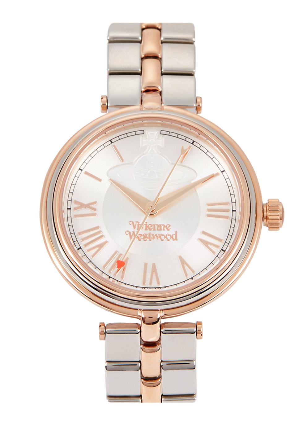 Farringdon two-tone watch - Vivienne Westwood