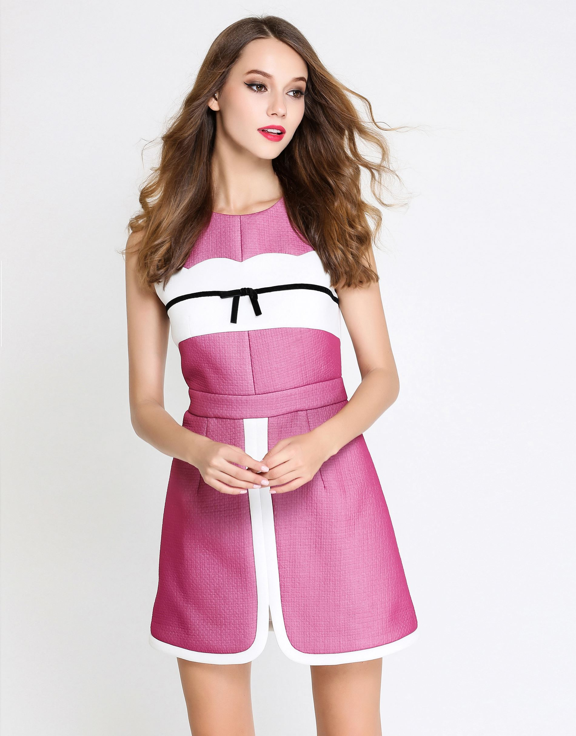 COMINO COUTURE PINK PASSION DRESS