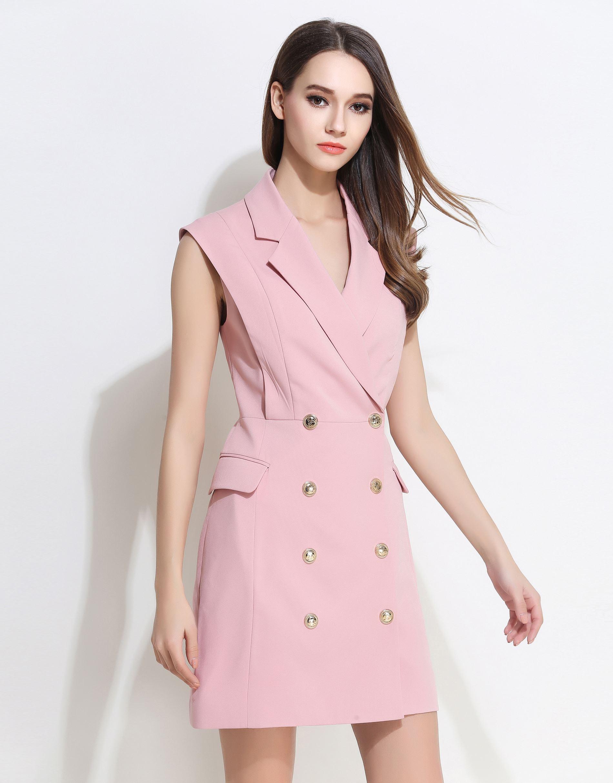 LUCCA WAISTCOAT DRESS