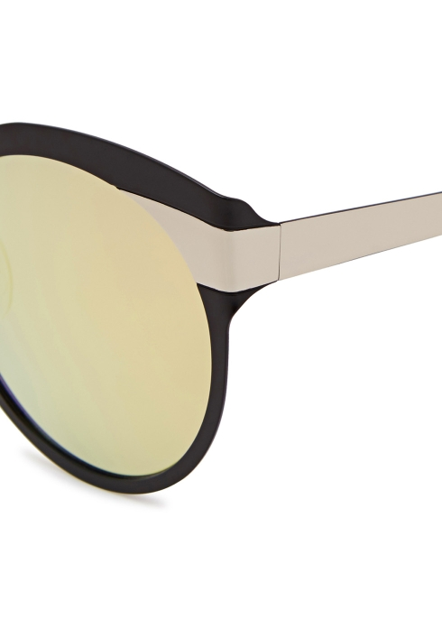 2b2f3cad440b9 FOR ART S SAKE Little Chaos black cat-eye sunglasses - Harvey Nichols