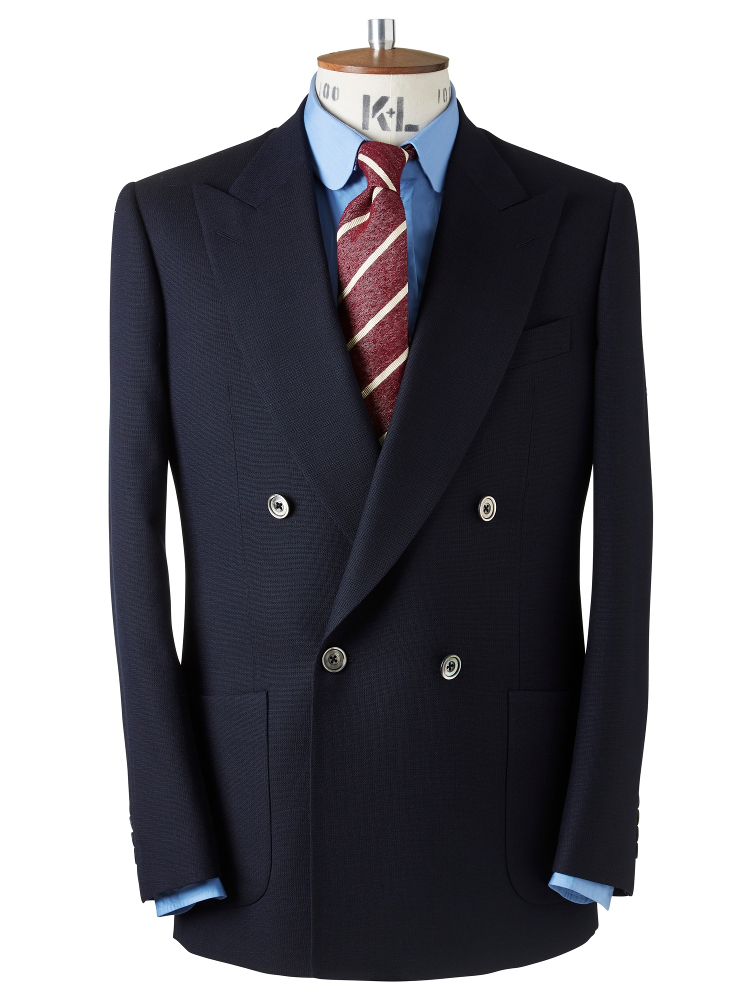 CHESTER BARRIE MESH KINGLY JACKET