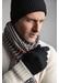 Mens cashmere gloves | black - Johnstons of Elgin