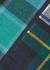Large tartan canvas pouch - Comme des Garçons
