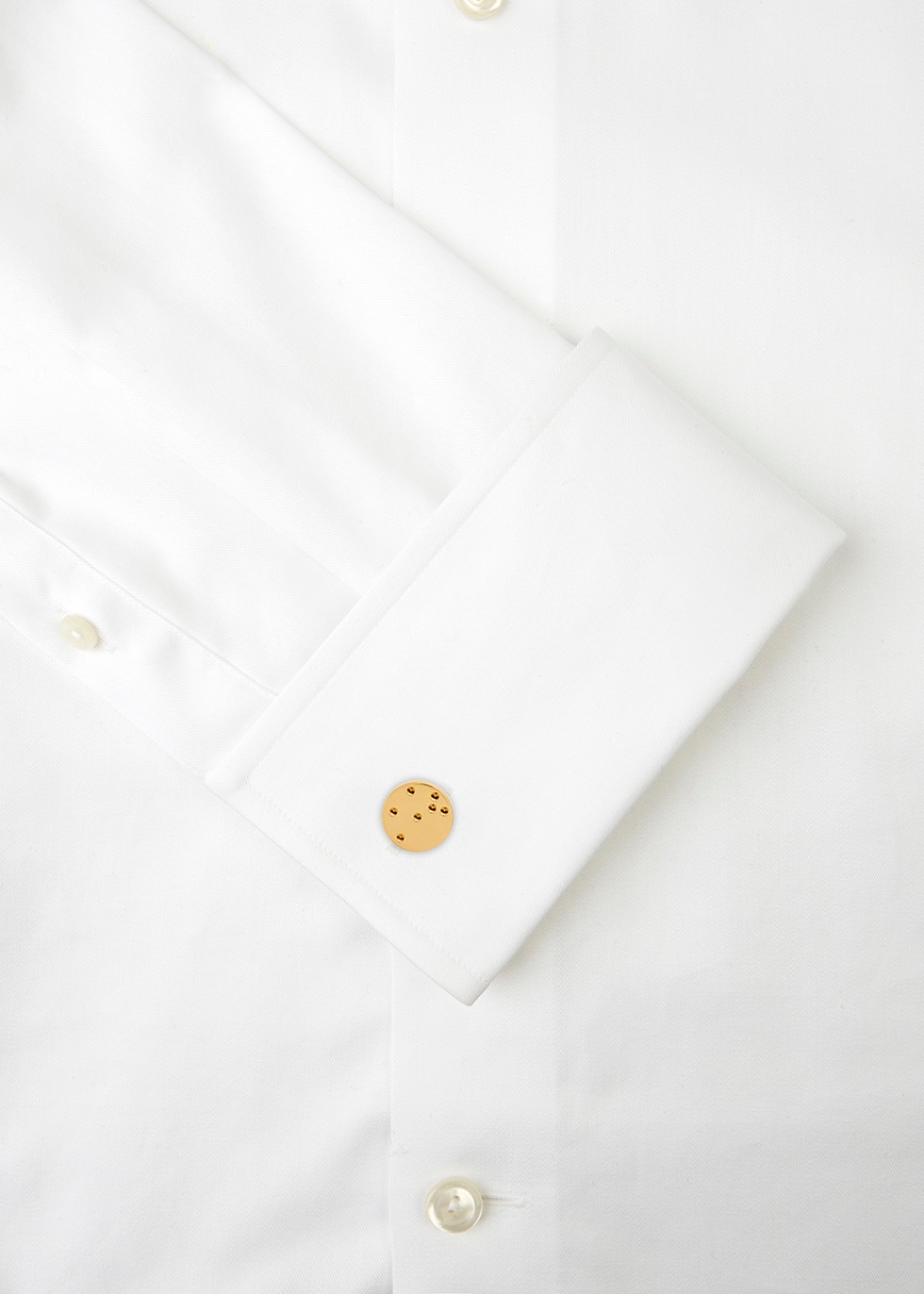 Cecil gold tone cufflinks - Alice Made This