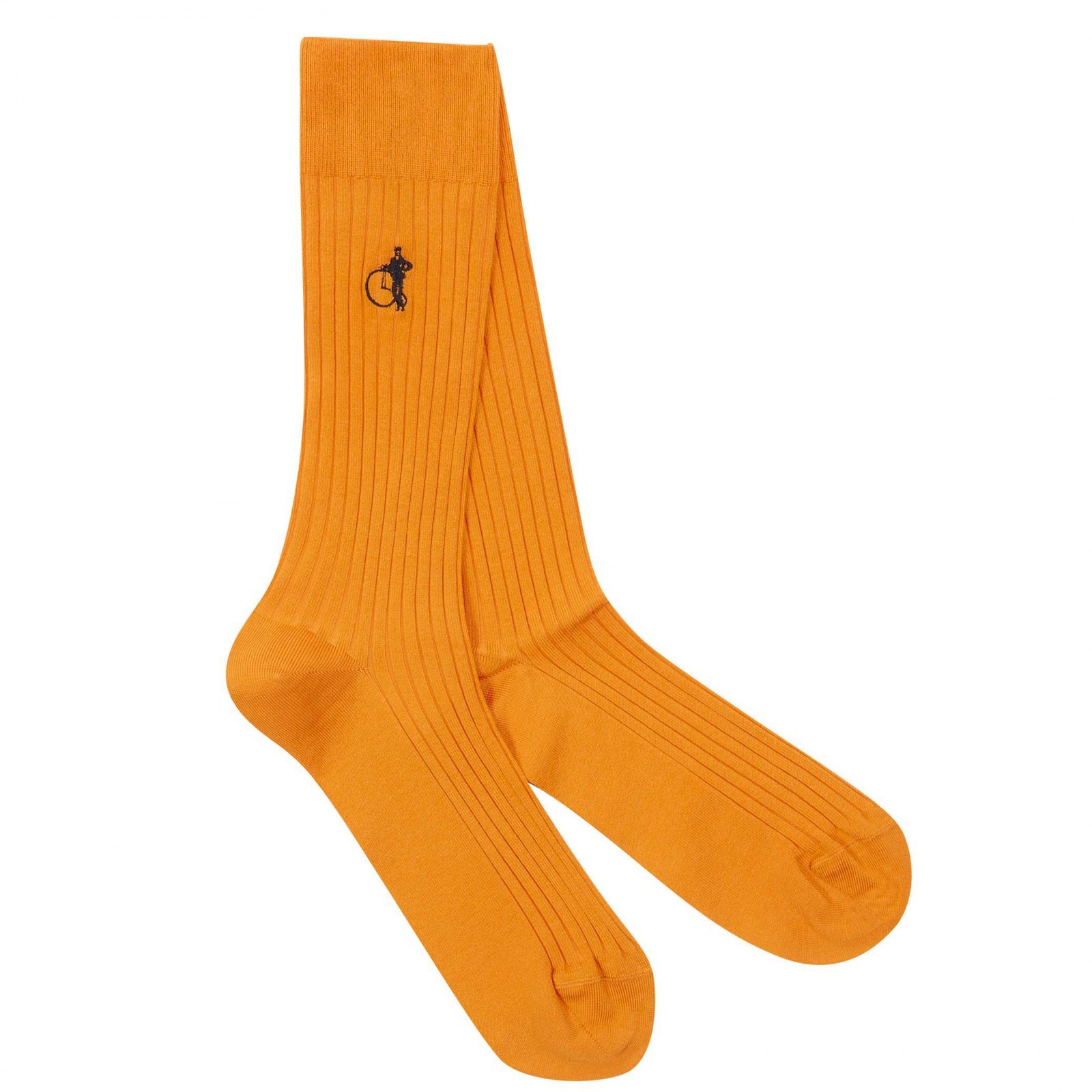 London Sock Co. SIMPLY SARTORIAL EAST INDIA SAFFRON