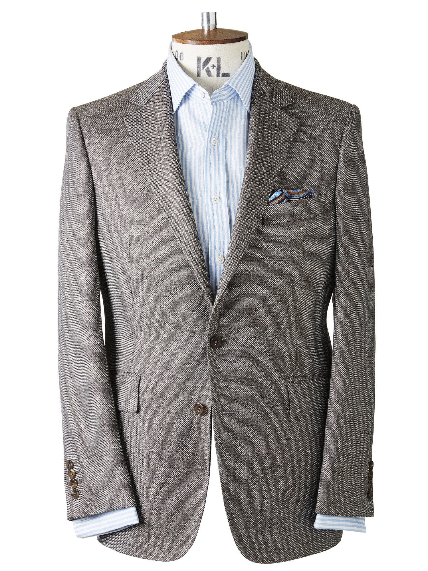 CHESTER BARRIE TEXTURED ALBEMARLE JACKET