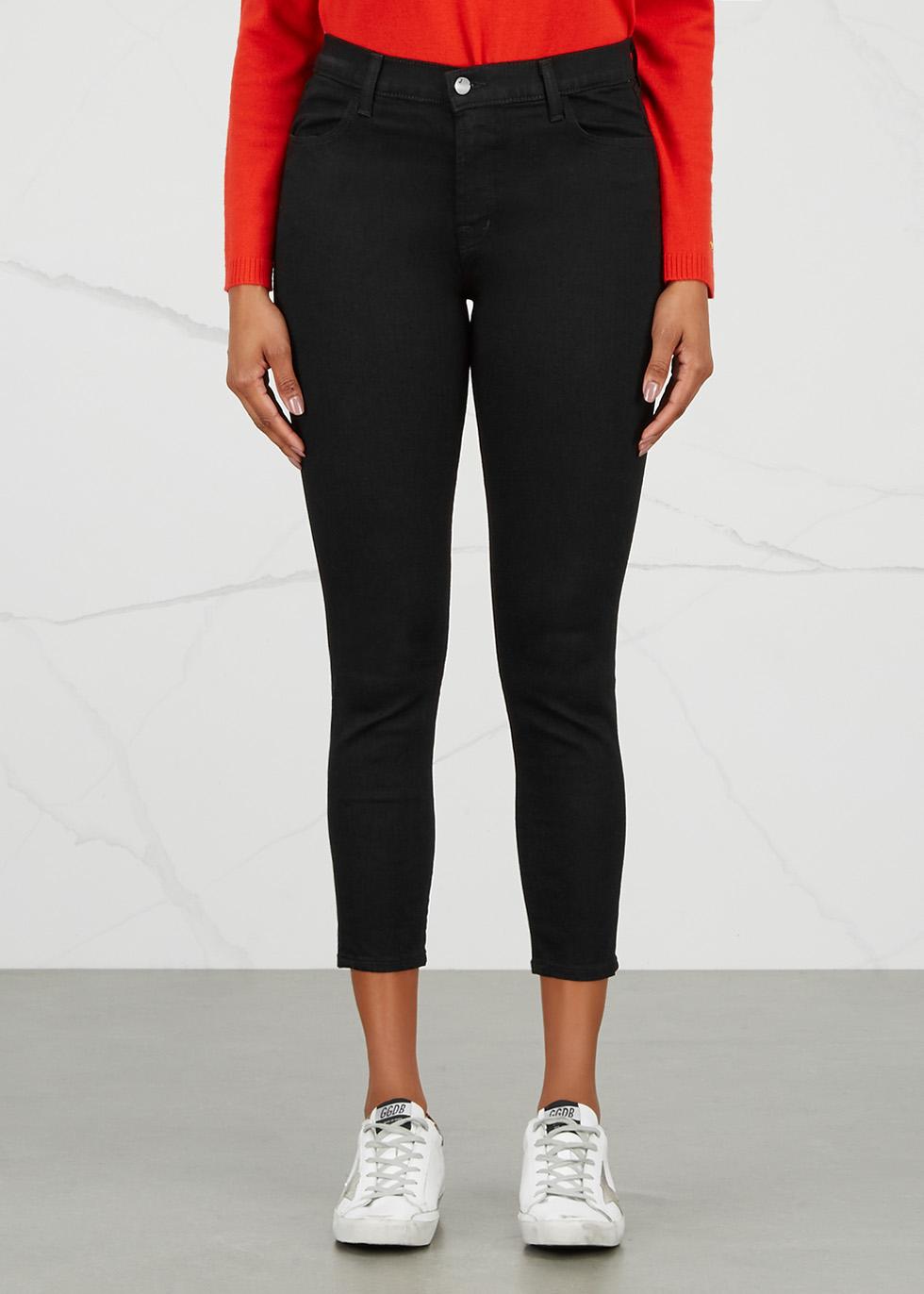 Alana black cropped skinny jeans - J Brand
