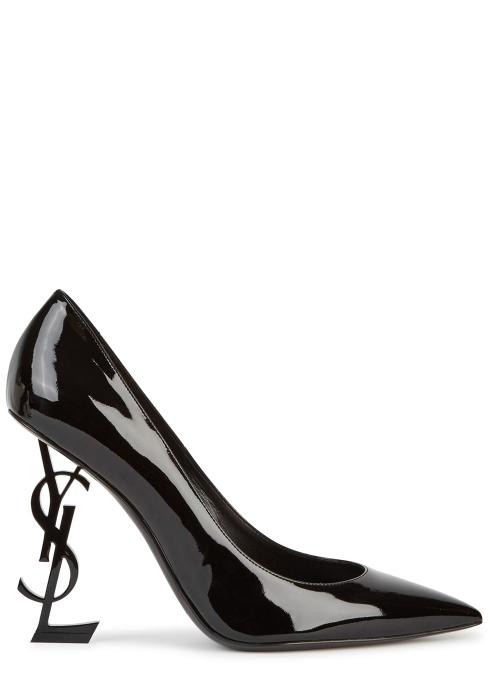8f2071bfe Saint Laurent Opyum 110 black patent leather pumps - Harvey Nichols