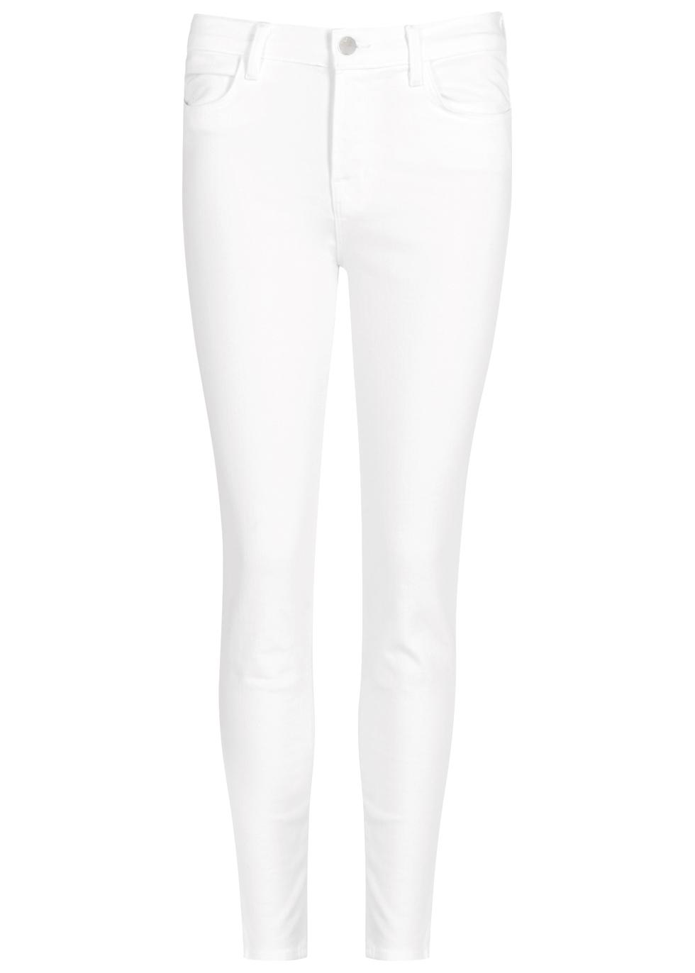 Alana white skinny jeans