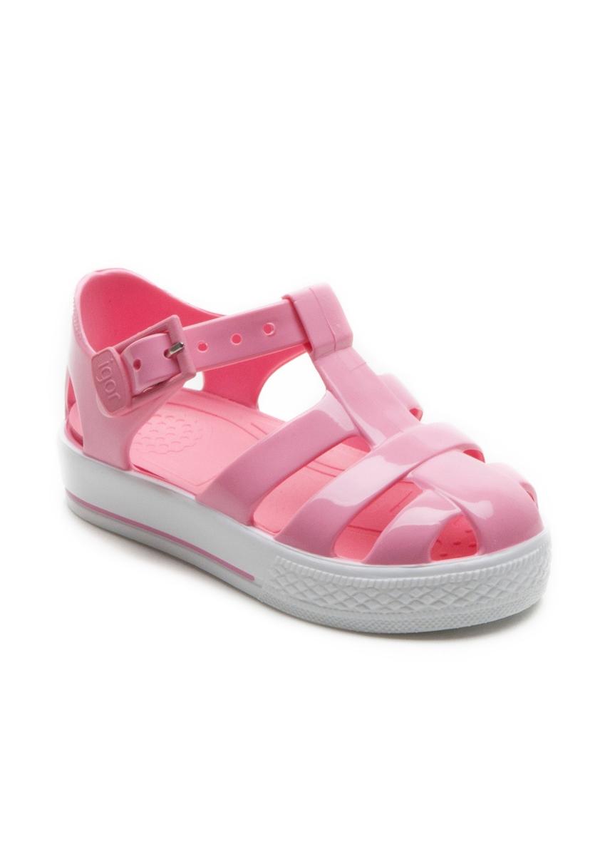 8427d6d9cbe3 Tennis pink jelly sandals. Igor Kids