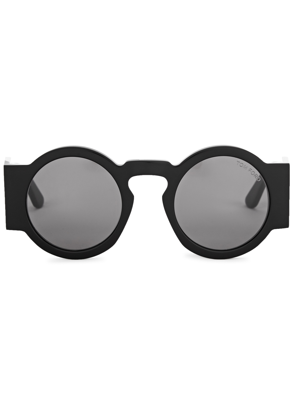 Tatiana black round-frame sunglasses - Tom Ford Eyewear