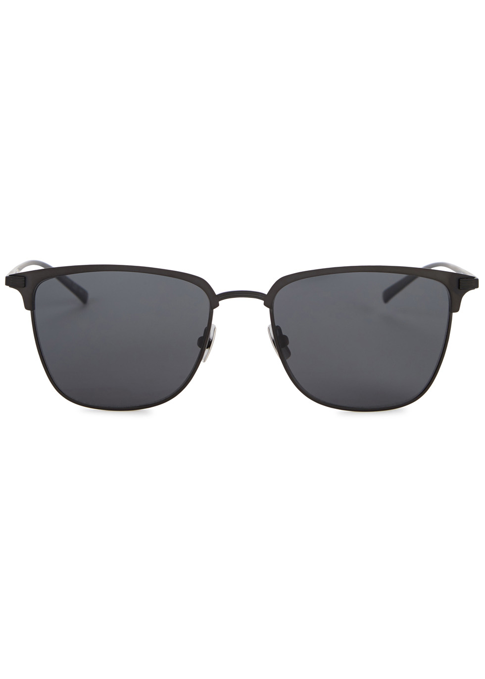 SL150T black clubmaster-style sunglasses - Saint Laurent