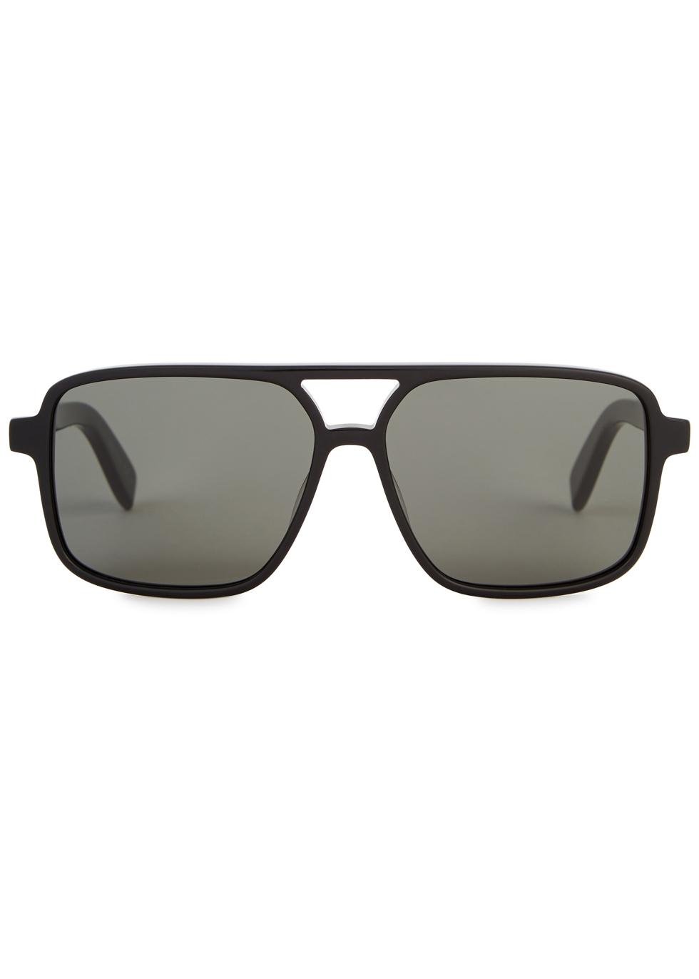 SL176 black D-frame sunglasses - Saint Laurent