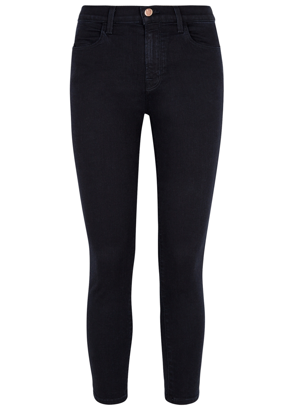 Alana indigo cropped skinny jeans