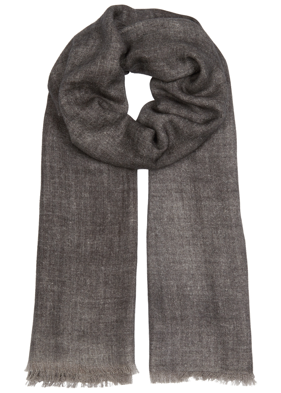AMA PURE Anthracite Wool Scarf