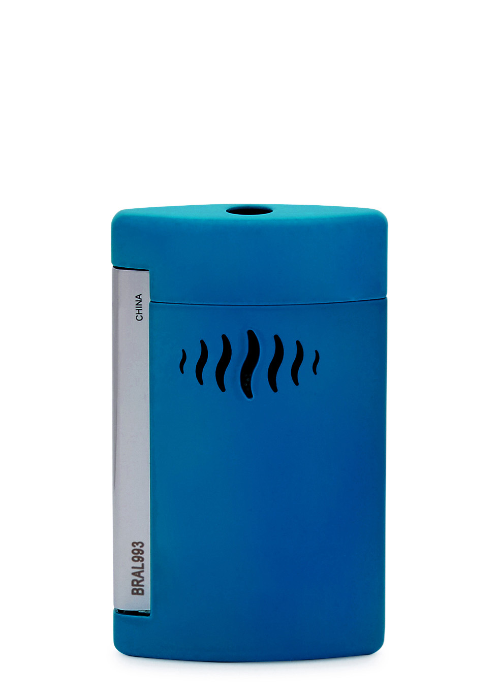 Minijet bright blue lacquered lighter - S.T. Dupont