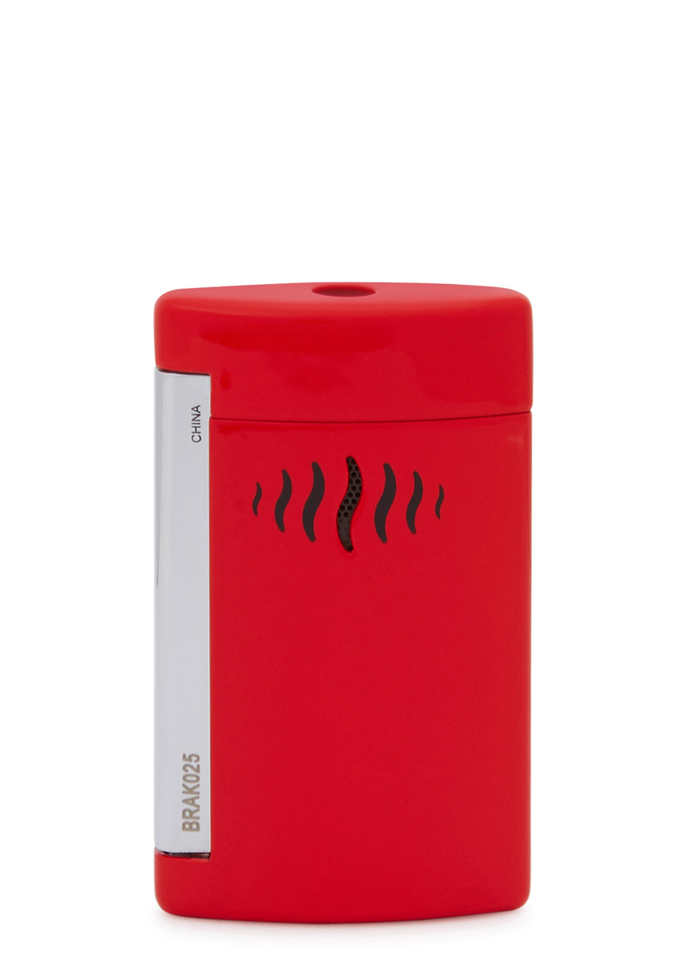 Minijet bright red lacquered lighter - S.T. Dupont