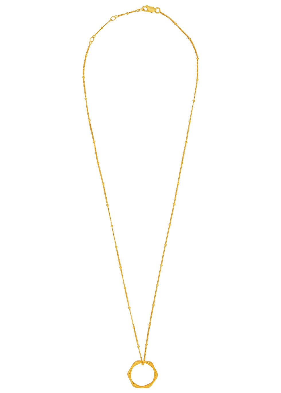 MISSOMA MAGMA 18CT GOLD VERMEIL NECKLACE