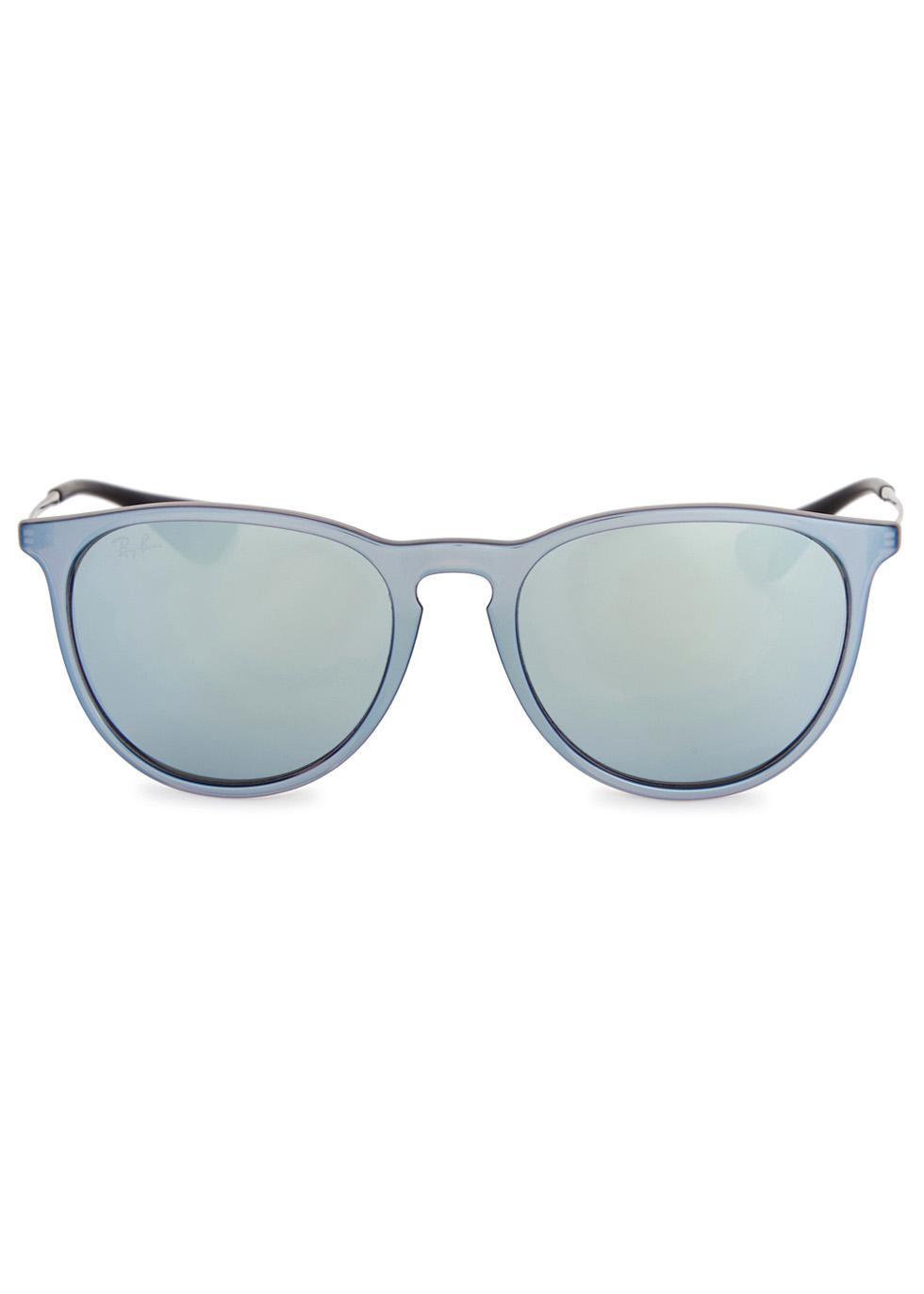 Erika 4171 metallic wayferer-style sunglasses - Ray-Ban