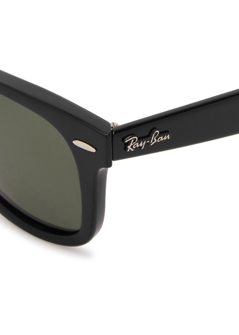 9af04895248 Ray-Ban Wayfarer Ease black polarised sunglasses - Harvey Nichols