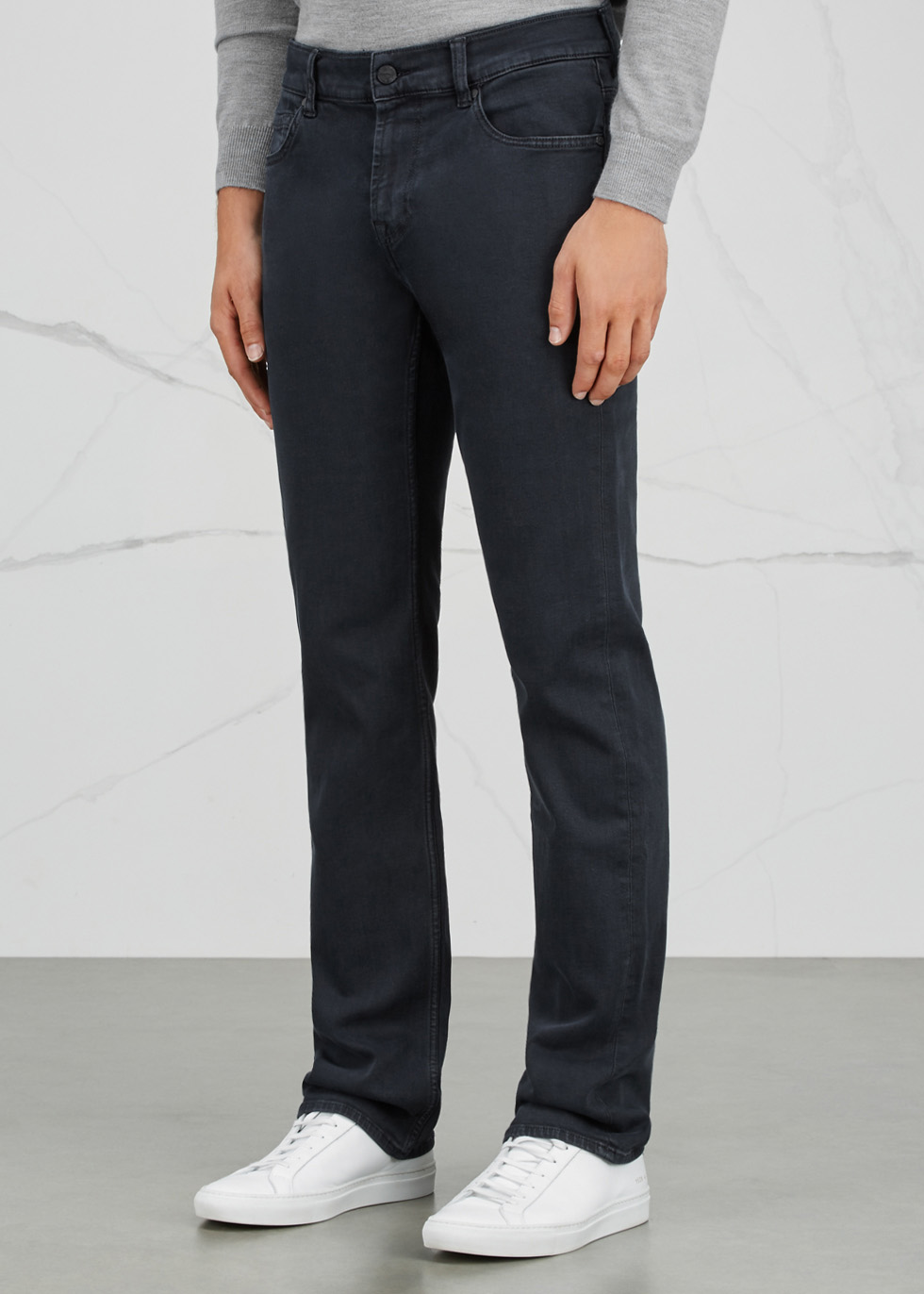 Standard Luxe Performance straight leg jeans - 7 For All Mankind