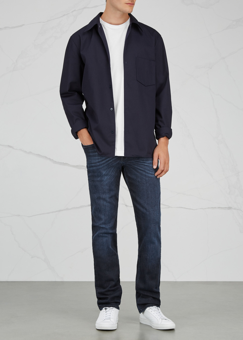 Slimmy Luxe Performance slim-leg jeans - 7 For All Mankind