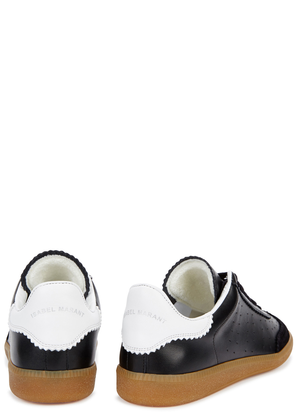 Isabel Marant Bryce black leather