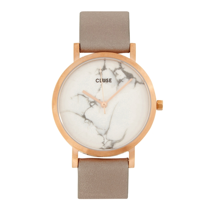 Cluse LA ROCHE PETITE ROSE GOLD TONE AND MARBLE WATCH