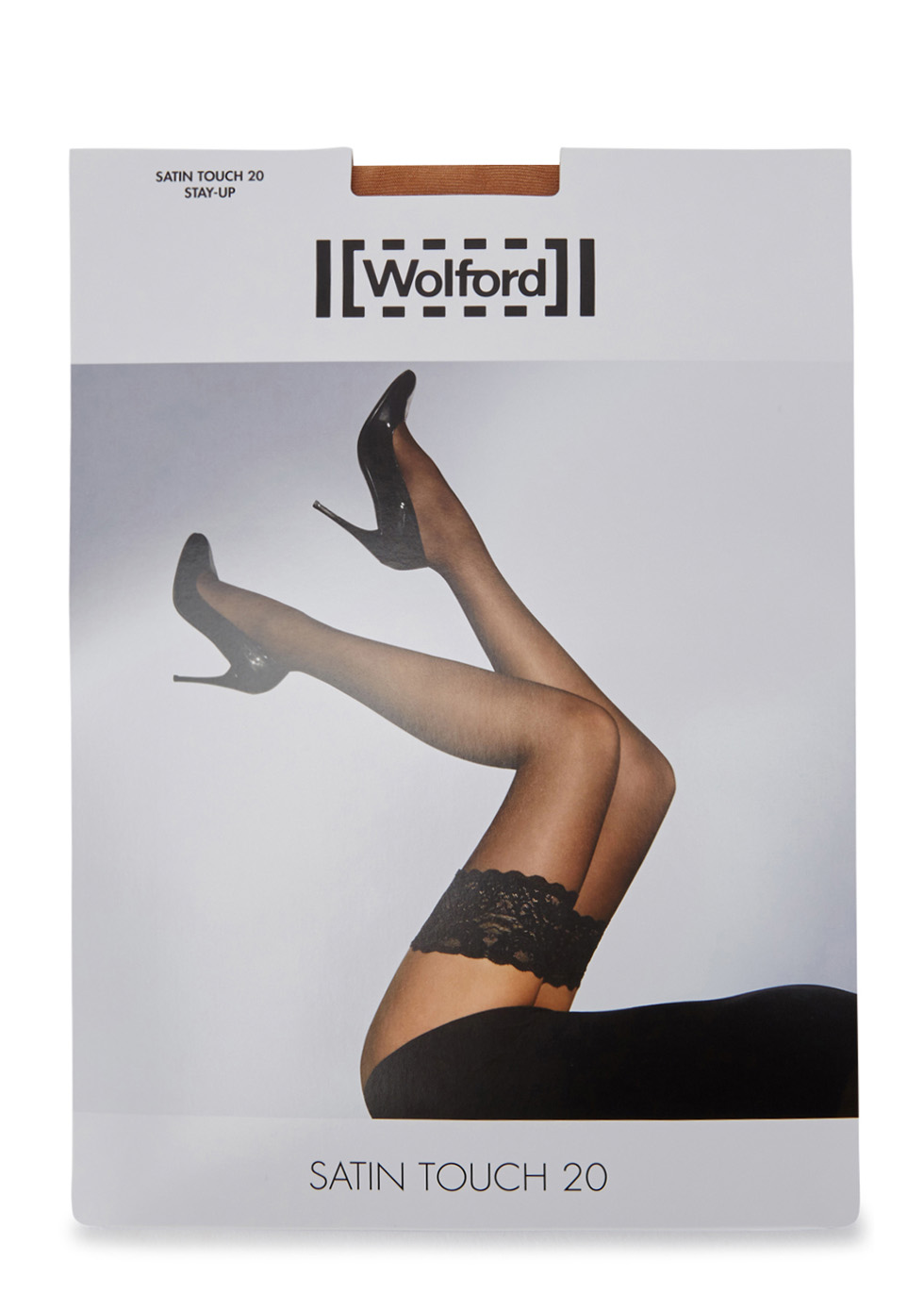 Satin Touch sand 20 denier hold-ups - Wolford