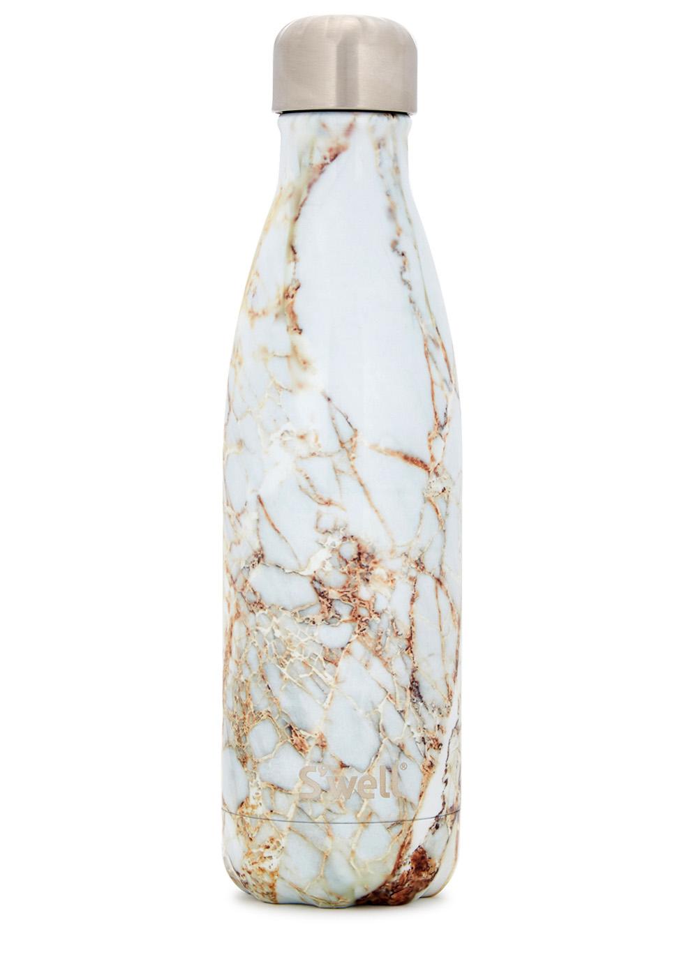 Calacatta Marble stainless steel bottle 500ml