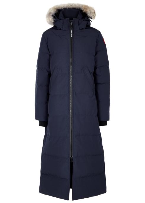 c67a9997ab56 Canada Goose Mystique fur-trimmed shell coat - Harvey Nichols