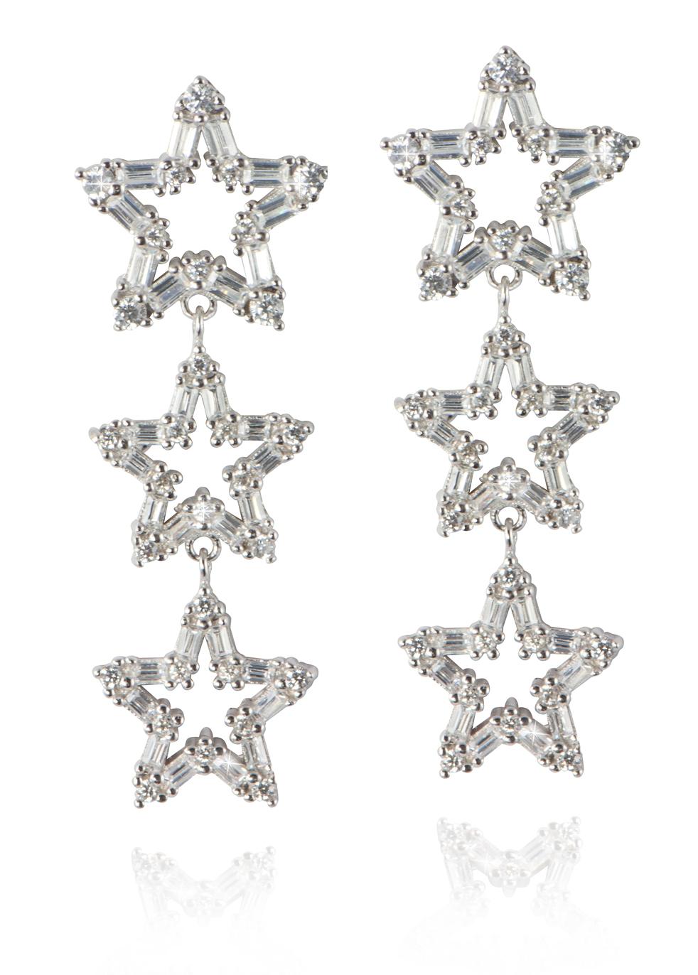 APPLES & FIGS THREE STARS EARRINGS