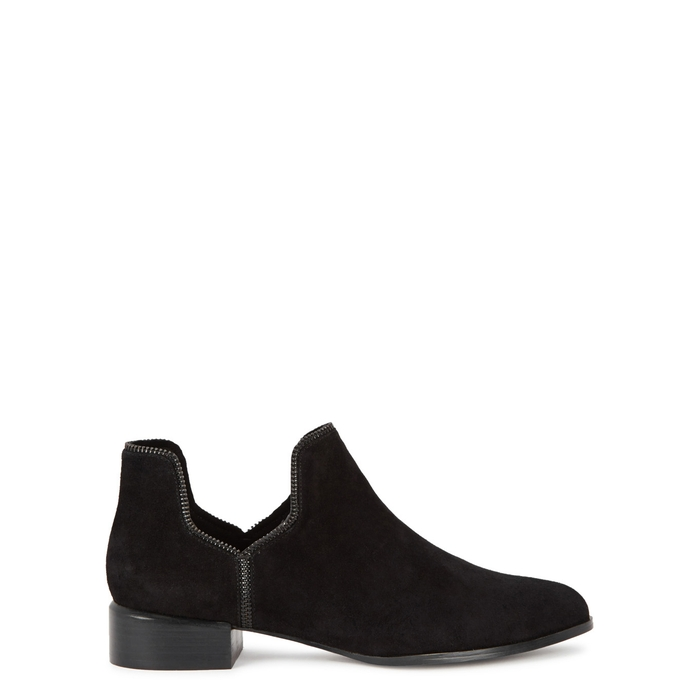 Senso BAILEY VIIII BLACK SUEDE ANKLE BOOTS