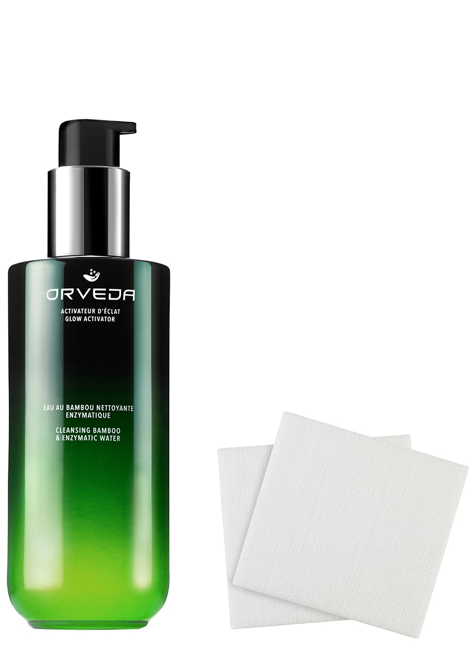 Cleansing Bamboo & Enzymatic Water 200ml - Orveda