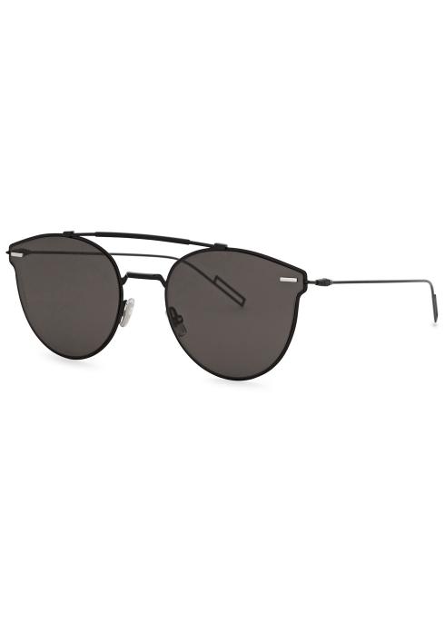 920d39677e09 Dior Homme Dior Pressure aviator-style sunglasses - Harvey Nichols