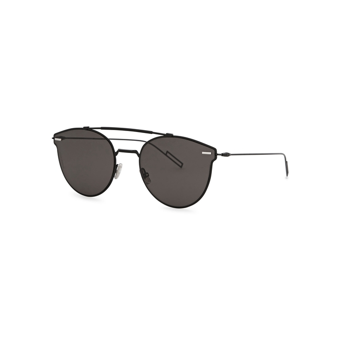 2a4df997c5e6f Dior Homme Dior Pressure Aviator-style Sunglasses