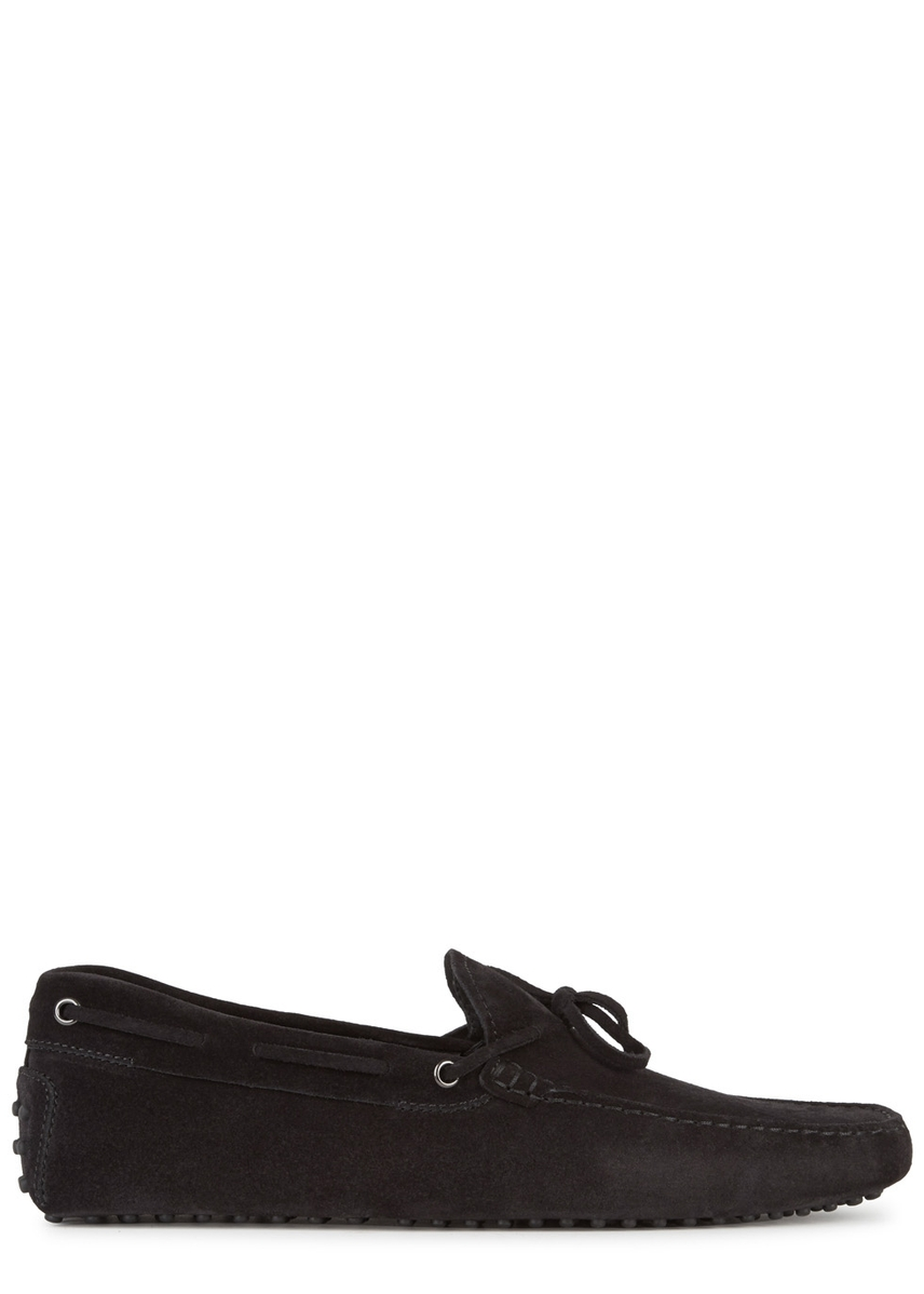 ae55490acbe Gommino black suede driving shoes. Tod s