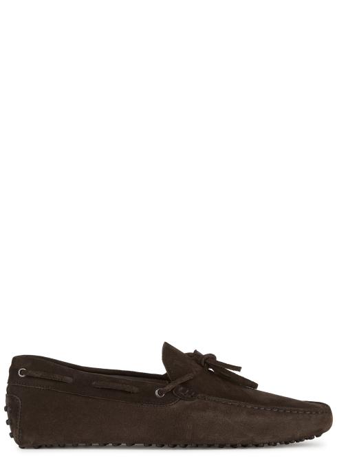 34b1c896b16 Tod s Gommino brown suede driving shoes - Harvey Nichols