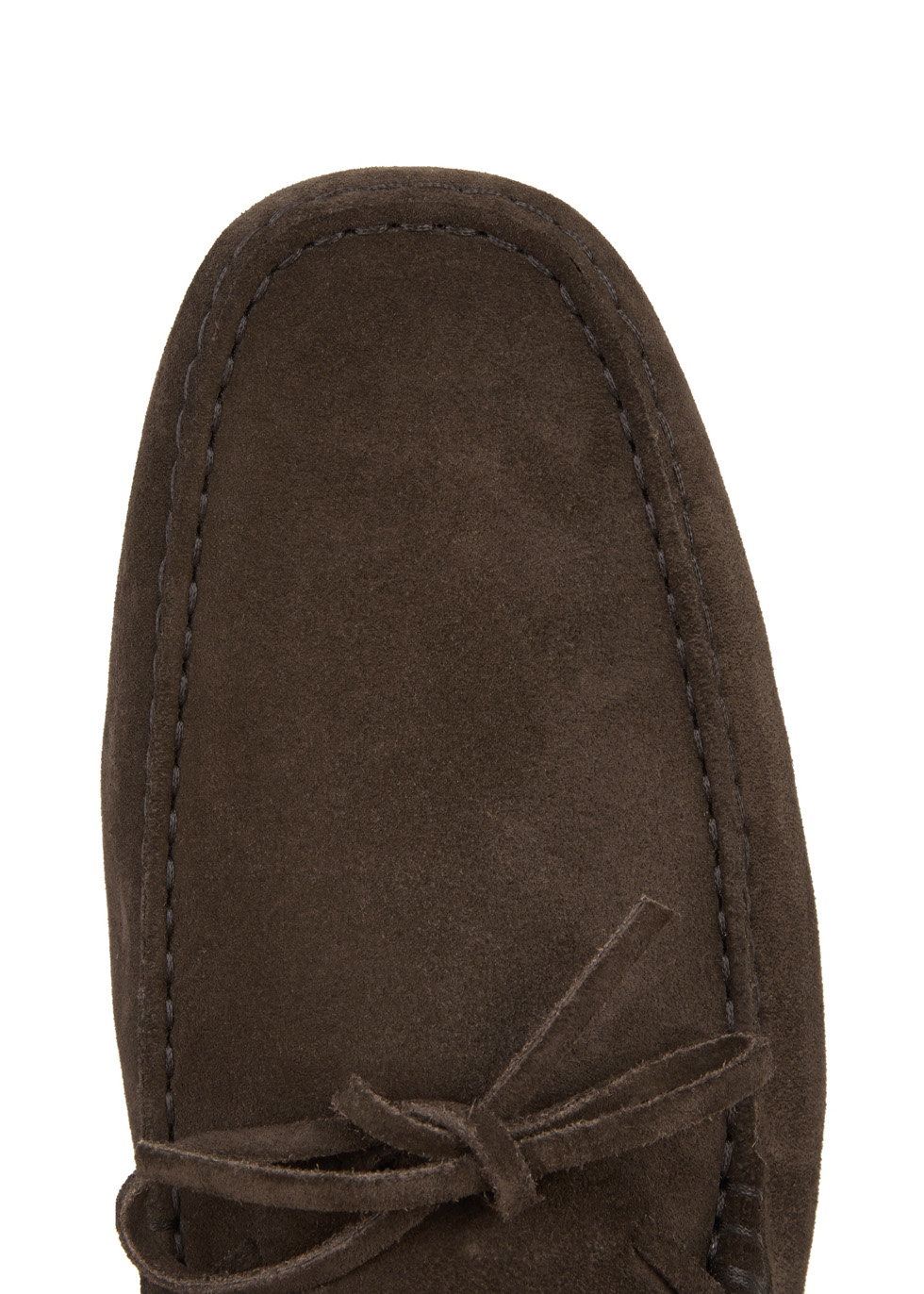 Gommino brown suede driving shoes - Tod's