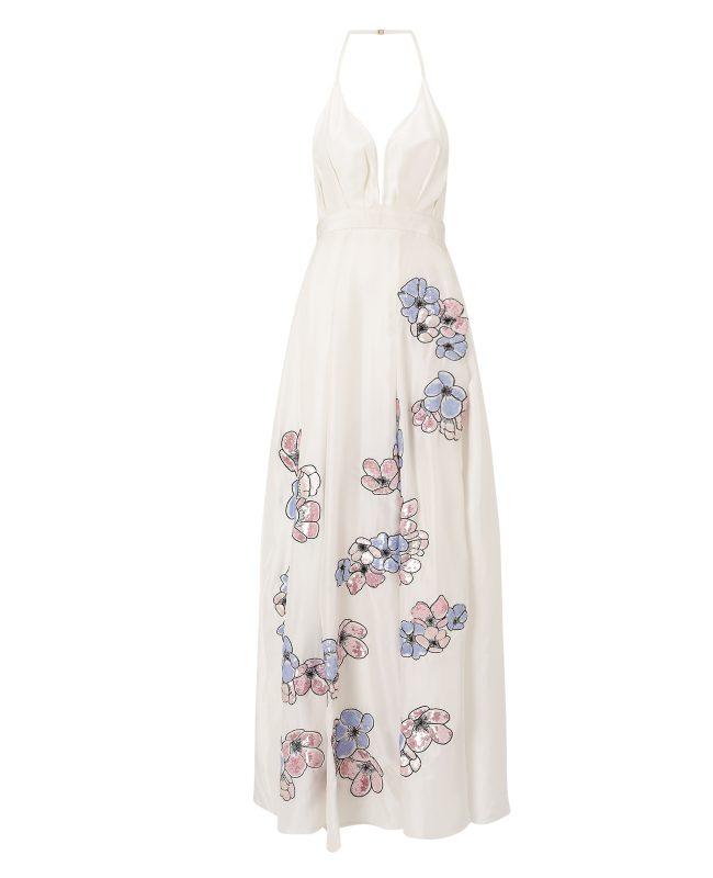 ANYA MAJ Hua White Dress