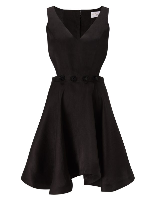 ANYA MAJ Lien Black Dress
